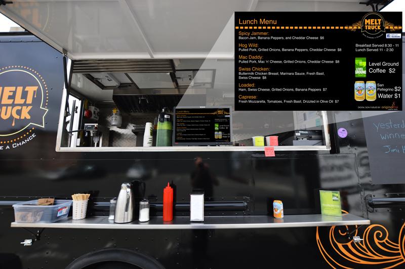 Food Truck Digital Sign