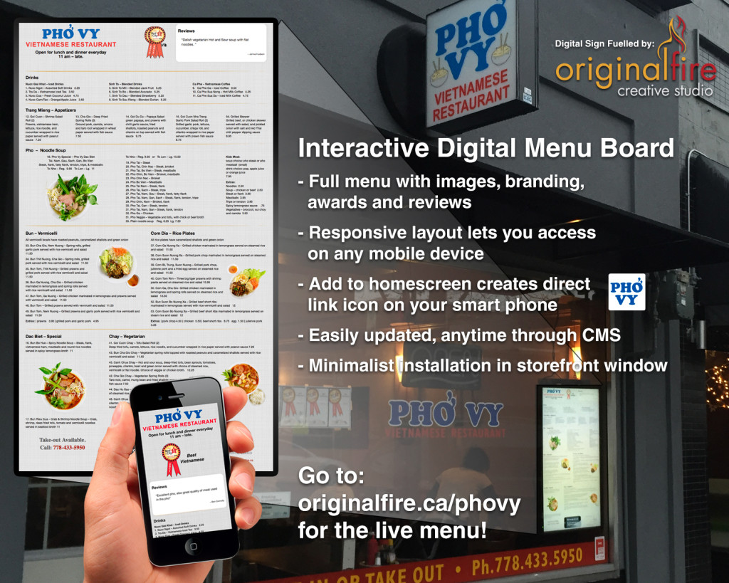 Digital-Menu-Board