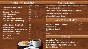 Digital Menu1